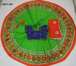 Shree wear Cotton Ladies Navratri Special Chaniya Choli, Dry clean, 2.15 X 1 Meter Square