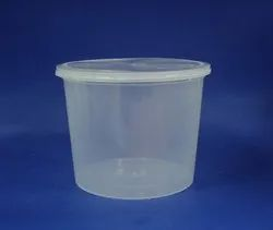 Plastic-Container-Milky-White- 1500 ML