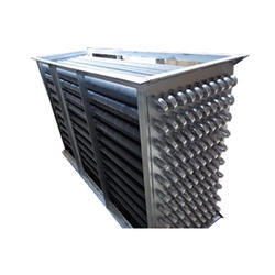 Mild Steel Finned Tube Heat Exchanger, Air