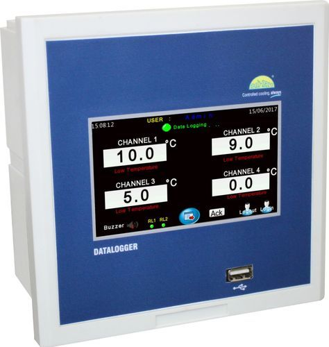 PVR PLC HMI Data Logger, For Laboratory, PVR Controls | ID: 18760059691