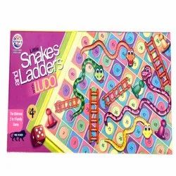 Little Snakes and Ladders Ludo