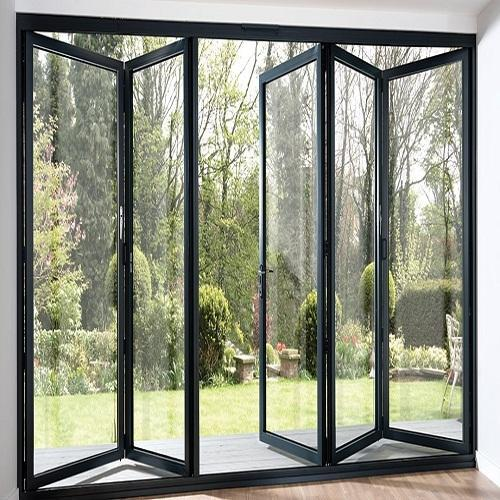 Aluminum Folding Door Hindalco Eternia Windows