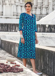 Blue Designer Kurti
