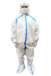 Sitra Certified Coveralls With Shoe Covers