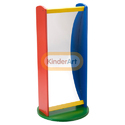 Carousel Convex and Concave Mirror Toys