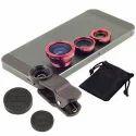 Clip-On Fisheye Wide Angle Macro Lens Set