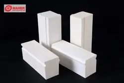 White Heat Resistant Alumina Lining Bricks