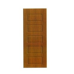 Brown PVC Skin Membrane Door, Size/Dimension: 7 x 2.10 Feet