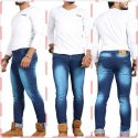 Faded Slim Fit Men's Jeans
