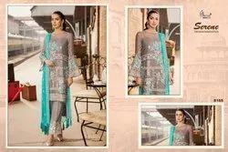 Party Wear Free Size Designer Pakistani Suit
