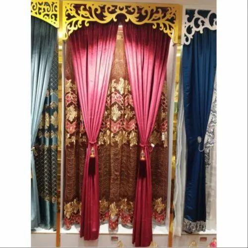 Plain Slot Top Curtain