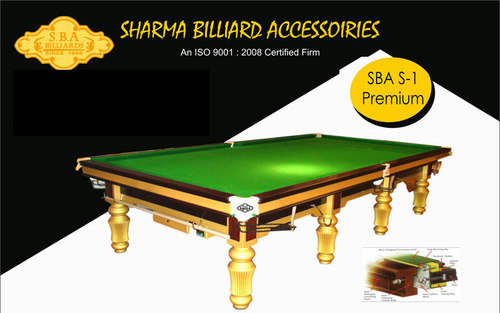 Snooker Table At Rs 285000 Piece Snooker Tables Id