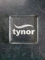 Acrylic Paper Weight With Engraving