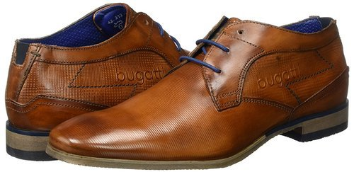 36b84d826c030 BUGATTI Brown-black Leather Brown Shoes, Size: 6-10, Rs 1100 /pair ...