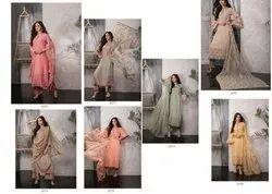 naariti Multicolor Ladies Silk Suit
