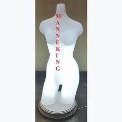 Undergarment Female Plastic Torso Mannequin