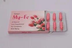 Ayurvedic/ Herbal My Fe Capsules (Iron Supplement)