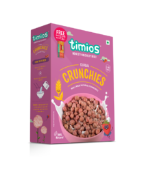 timios Strawberry Crunchies Breakfast Cereals