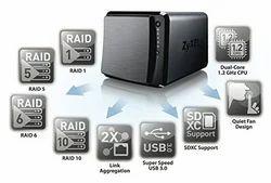 ZYXEL-NAS-540 (Network Attached Storage)