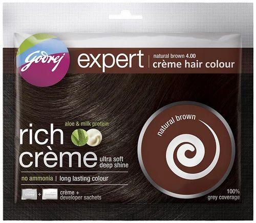 5d8719ddd842f Godrej Expert Creme Hair Colour Natural Brown 4.00 at Rs 30 /box ...