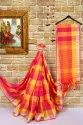 Cotton Silk Saree With Jhalar