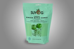 Suyog Frozen Green Apple cubes