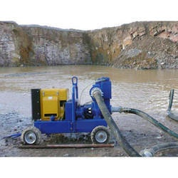 Engine Motor Driven Dewatering Pump