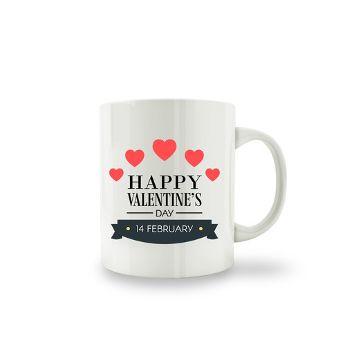 Creative Clap Multi Color Valentine S Day Coffee Mug Size 3 2 Inch Wide