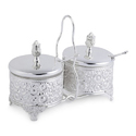 Silver Plated Pickle Bowl Set