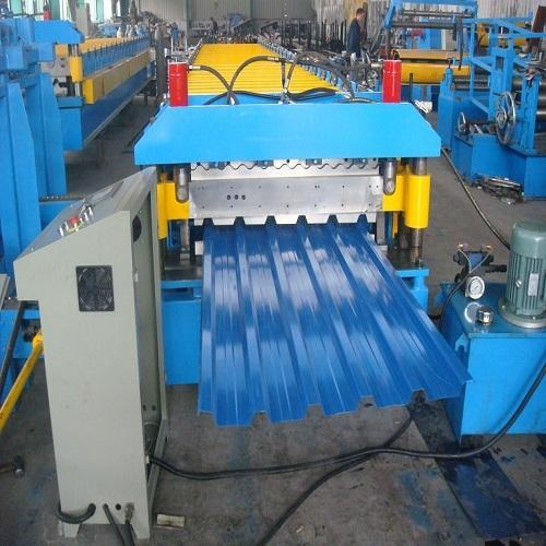 Roofing Sheet Making Forming Machine Pre Coated Roofing Sheet Making Machine Manufacturer From Surat