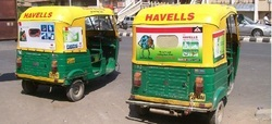 Auto Rickshaw Adverting