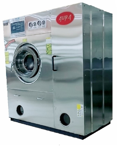 AURA Single And Three Phase Hydro Carbon Dry Cleaning Machine, 415 V,3  Phase Or 1 Phase, 1.5 Kw, | ID: 18234161533