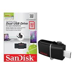 32GB Dual USB Pen Drive