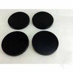 Gaurav Black Anti Vibrating Rubber Pads