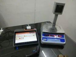 PLU Setting Weight Machine