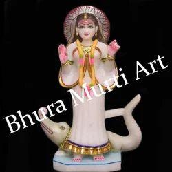 Marble Mata Khodiyar Statue
