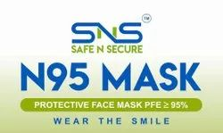 Sns Safe n Secure N95 Mask Numbar Of Layers - 5 Layers