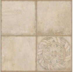 Cotto Creme Decor Ceramic Floor Tiles