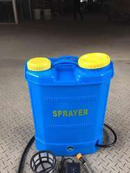Battery Operated Insecticide Plastic Sprayer