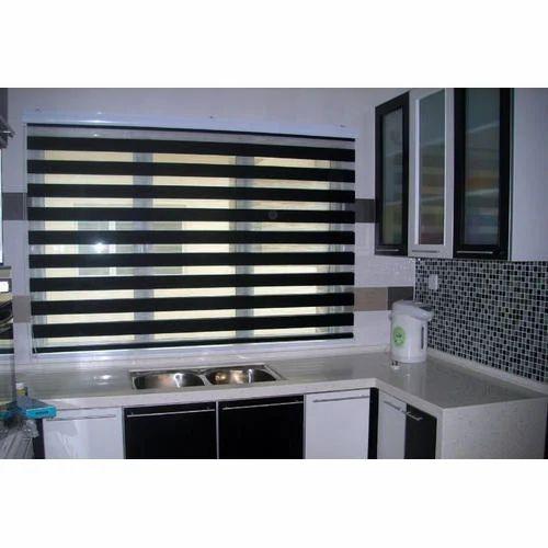 Rectangular Zebra Window Blind