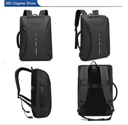 Fully Open Anti Theft Back Pack and Travel Bag