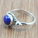 Designer 925 Sterling Silver Jewelry Lapis Lazuli Gemstone New Ring Wr-5013