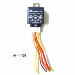 AI-1405 Dual Head Lamp Relay, 120 V