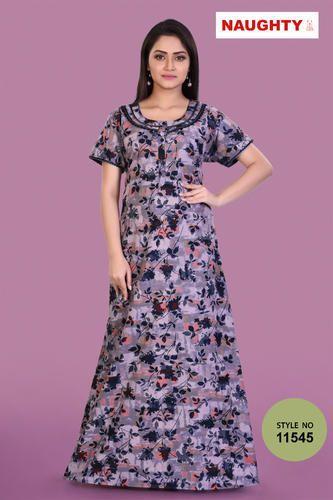 3545d6b8bf Female 1 Naughty Women's Cotton Night Dress, Rs 370 /piece | ID ...