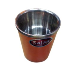Sajan Polished Stainless Steel Glass, for Home