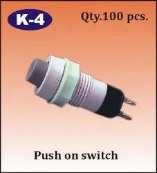 K-4 Push On Switch