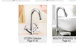 Silver Stainless Steel Tap, For Bathroom Fitting