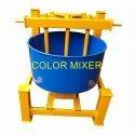 Reverse Drum Pan Mixer