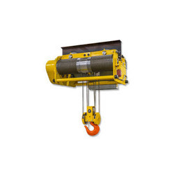 10 Ton Wire Rope Hoist With Central Trolley