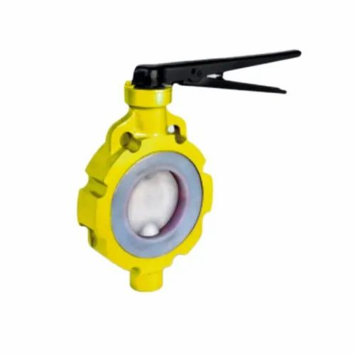 PTFE Lined Butterfly Valve at Rs 3000/piece | Polytetrafluoroethylene Lined  Valves, पीटीएफई रेखांकित वाल्व - Focet Valves Private Limited, Ahmedabad |  ID: 21409826155